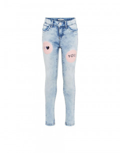 NAME IT Flip Sequin Skinny Fit Jeans