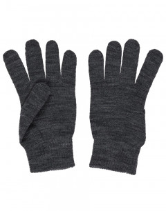 NAME IT Knit Gloves Dark Grey Melange