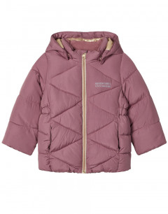 NAME IT Milton Quilted Puffer Jacket Neon Pink