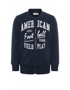 NAME IT Mini Cotton Sweatshirt Navy