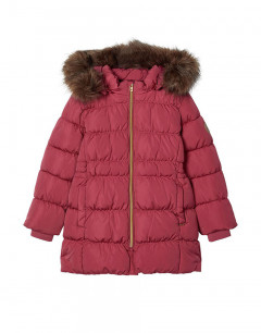 NAME IT Molly Long Down Jacket Rose Wine