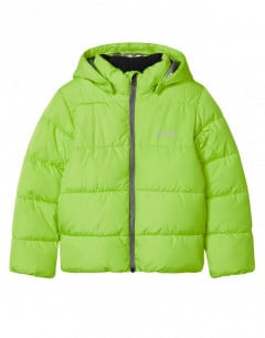 NAME IT Quilted Puffer Jacket Acid Lime