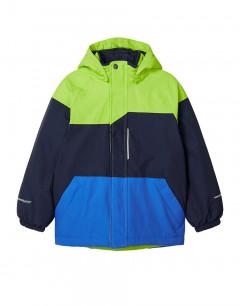 NAME IT Snow03 Technical Ski Jacket Block Acid Lime
