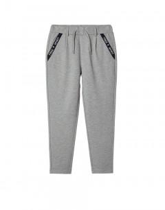 NAME IT Tape Detail Trousers Grey Melange