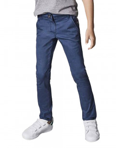 NAME IT Slim Fit Chinos Dress Blue