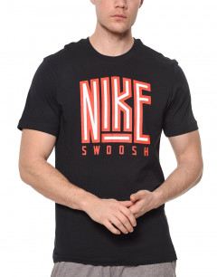 NIKE Swosh Core Tee Black