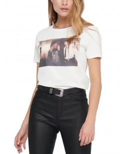 ONLY 2Pac Print T-Shirt Cloud Dancer