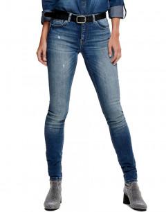 ONLY Carmen Slim Fit Jeans Blue