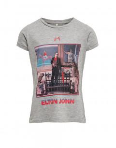 ONLY Elton John Printed Tee Grey
