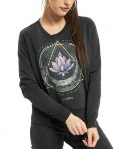 ONLY Printed Blouse Black Lotus