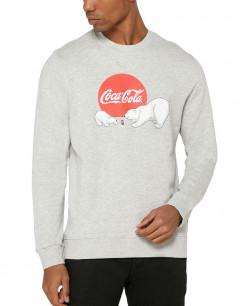 ONLY&SONS Coca Cola Sweatshirt  Grey