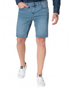 ONLY&SONS Ply Reg Raw Hem Shorts Blue
