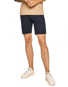 ONLY&SONS Slim Chino AOP Shorts Blue