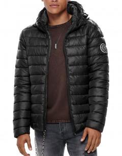 ONLY&SONS Steven Hooded Jacket Black