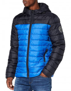 ONLY&SONS Steven Hooded Jacket Blue