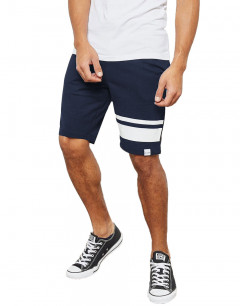 ONLY&SONS Stripe Sweat Shorts Navy