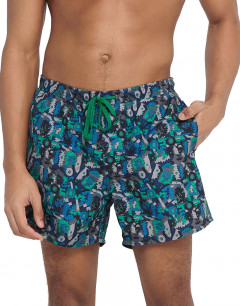ONLY&SONS Ted Swim AOP Shorts Titanium