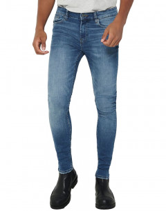 ONLY&SONS Warp Skinny Jeans Blue