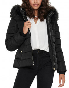 ONLY Short Padded Jacket Black