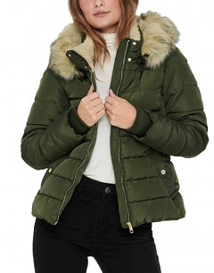 ONLY Short Padded Jacket Forest