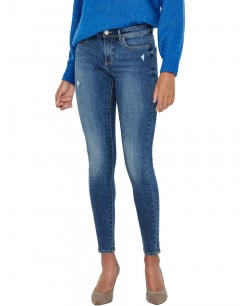 ONLY Wauw Life Skinny Fit Jeans Denim