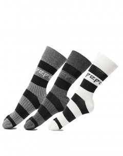 PEPE JEANS 3-pack Benson Socks Multicolour