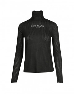 PEPE JEANS Polo Cable Blouse Black