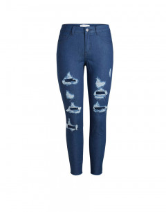 PIECES Just Tilda Cropped Jeans Denim