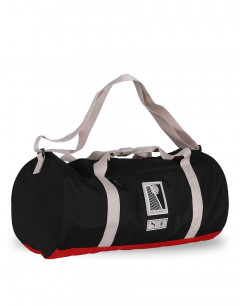 PUMA AC Milan Premium Barrel Bag Black