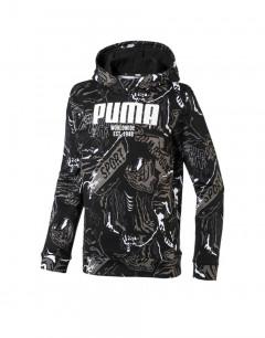 PUMA Alpha AOP Hoody Black