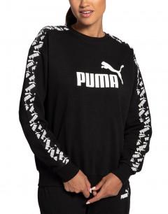 PUMA Amplified Crew Black