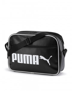 PUMA Campus Reporter Retro Bag Black