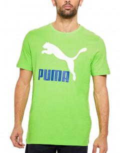 PUMA Classic Logo Tee Green
