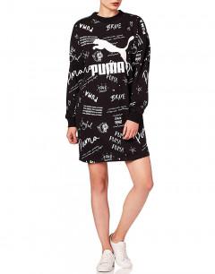 PUMA Classics Aop Dress Black