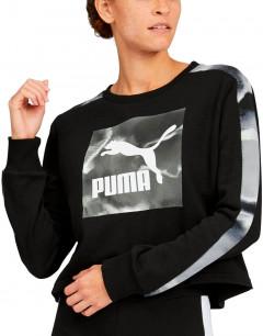 PUMA Cloud Pack Crew TR Wmns Hoodie Black