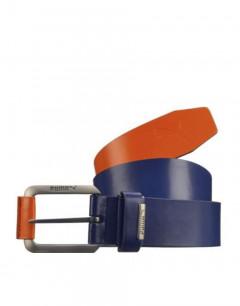 PUMA Colorblock Cut To Lenght Belt Blue/Orange