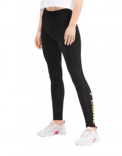 PUMA Ess Graphic Leggings Black