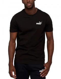 PUMA Essential Small Logo Tee Black
