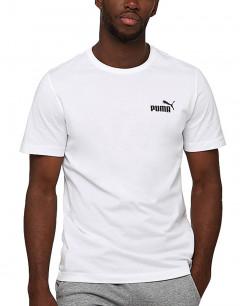 PUMA Essential Small Logo Tee White