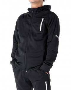 PUMA Evostripe FZ Warm Hooded Jacket Black