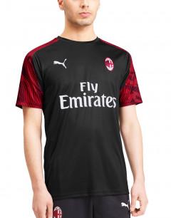 PUMA Ac Milan Stadium Jersey SS Tee Black