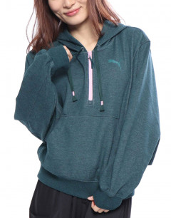 PUMA Feel It Cover Up Sweater Green