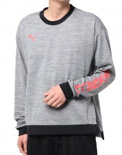 PUMA FtblNXT Hybrid Knit Top Grey