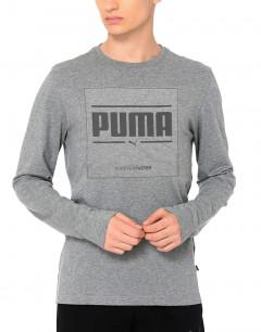 PUMA Graphic LS Tee Grey