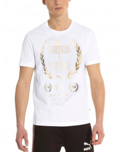 PUMA Greatest Hits Tee White