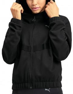 PUMA Hit Feel It Sweat Jacket Black