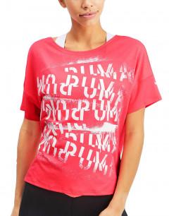 PUMA Hit Feel It Tee Pink