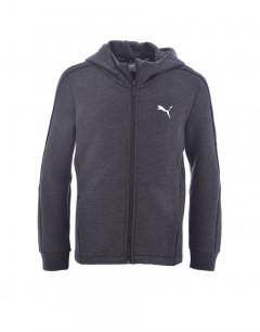 PUMA Kids Zip Sweatshirt Grey