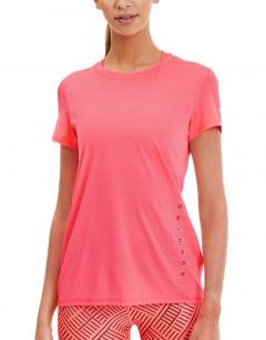 PUMA Last Lap Ess Logo Tee Pink