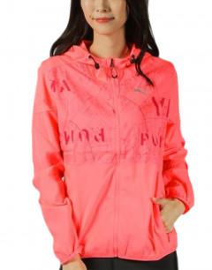 PUMA Last Lap Hooded Jacket Pink